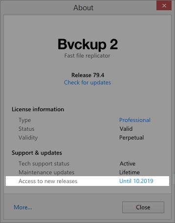 Bvckup 2   Development notes   07062018