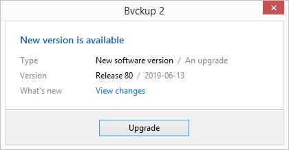 Bvckup 2 | Development notes